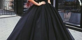 Красивые черные платья на 2020-2021: модные фасоны в фото подборке