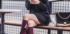 Самые модные женские сапоги сезона 2020-2021: фото новинок и готовых образов с сапогами