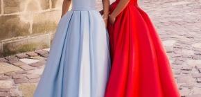 Красивые вечерние платья в пол: идеи для вдохновения