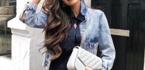 Женские джинсовые куртки сезона 2020-2021: фото трендовых моделей